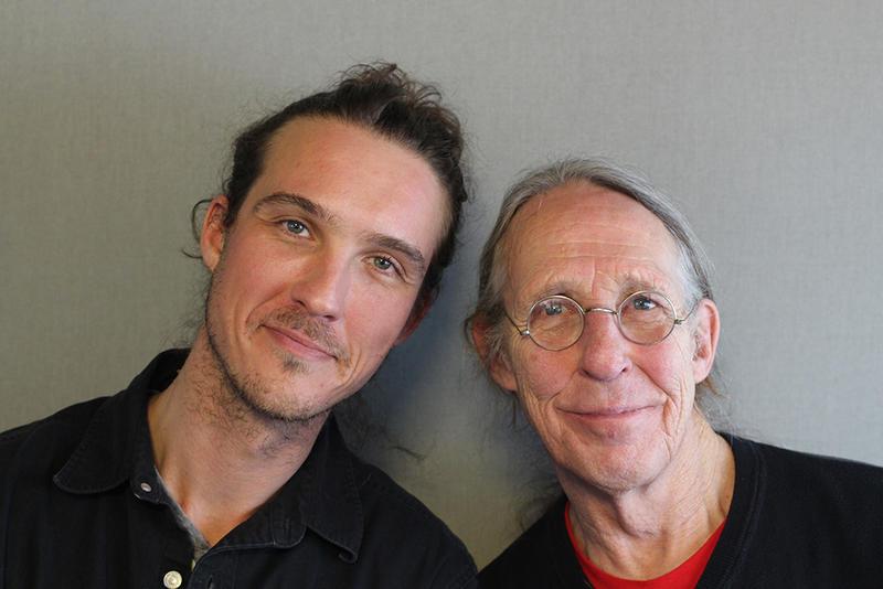 Blaze McKenzie and his father Jeff McKenzie