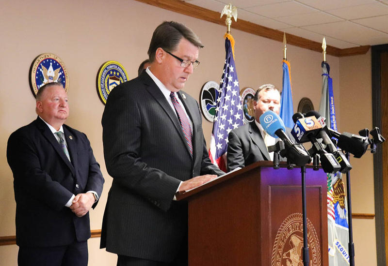 Acting U.S. Attorney Bob Troester announced indictments against the five Oklahomans, Thursday.