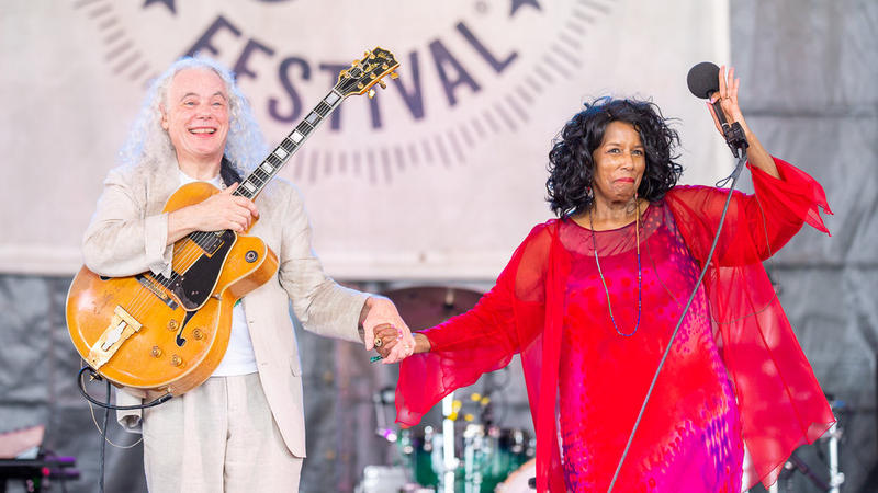 Tuck & Patti at the 2018 Newport Folk Festival