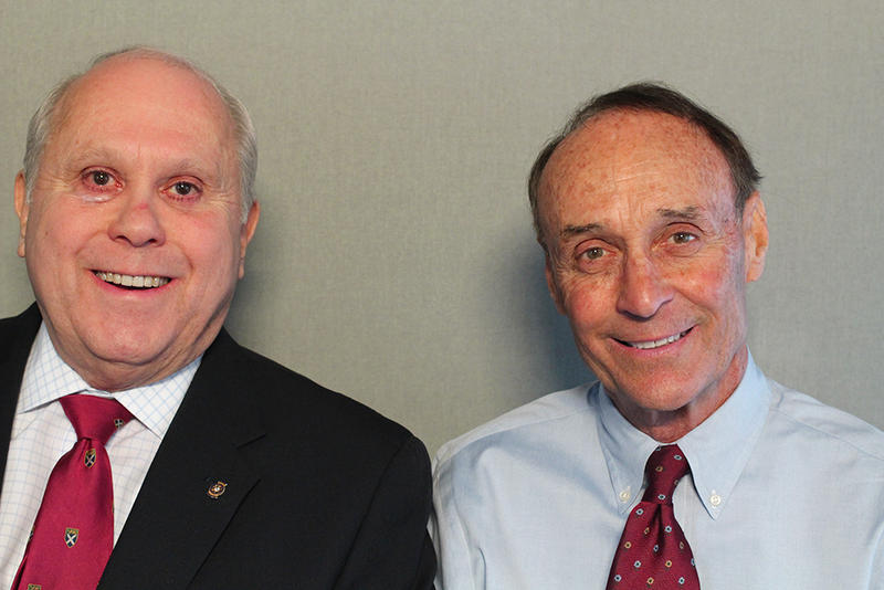 (l to r): Gean Atkinson and Bob Ford
