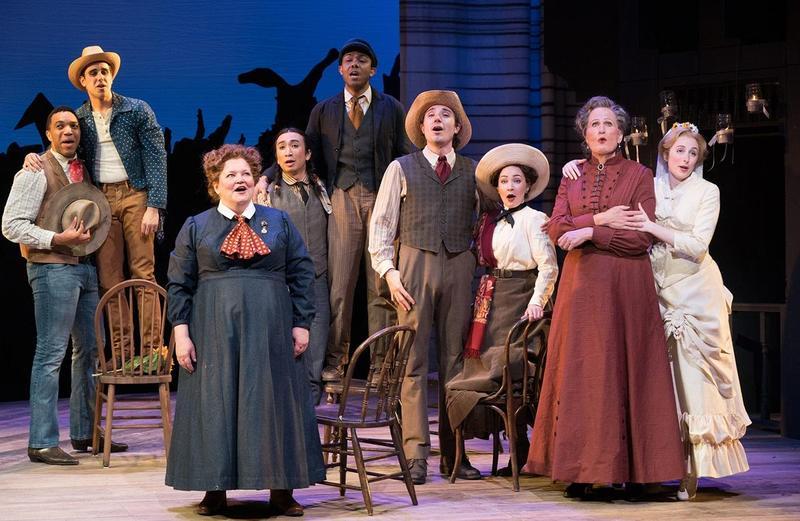"""The ensemble of """"Oklahoma!"""""""