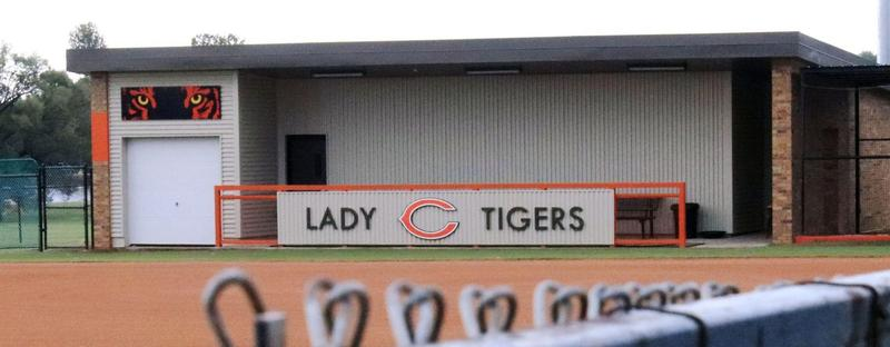Cushing Public Schools paid for the construction of its softball stadium with money from the building fund.