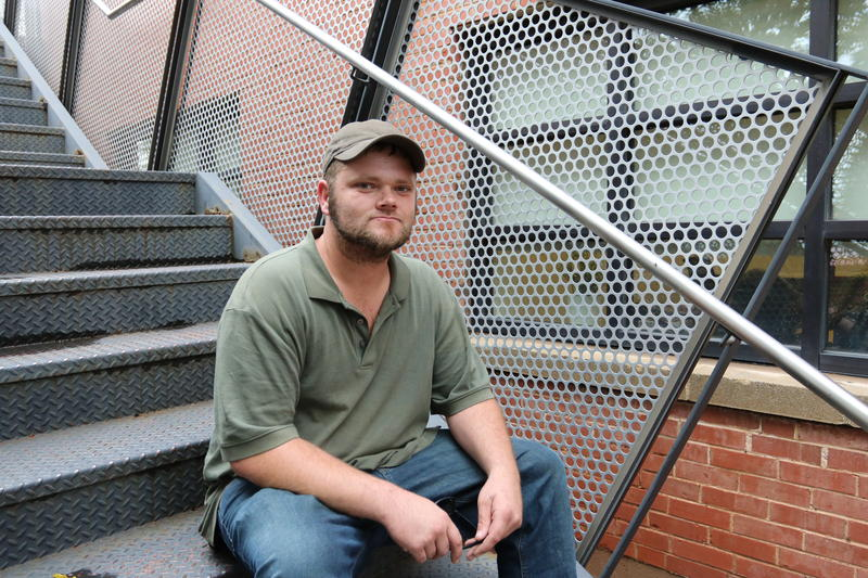 Former Firstep participant Dustin Misener was assigned to work on a demolition crew. After Misener was injured on the job, Firstep kept most of his first disability check and asked him to leave the program.