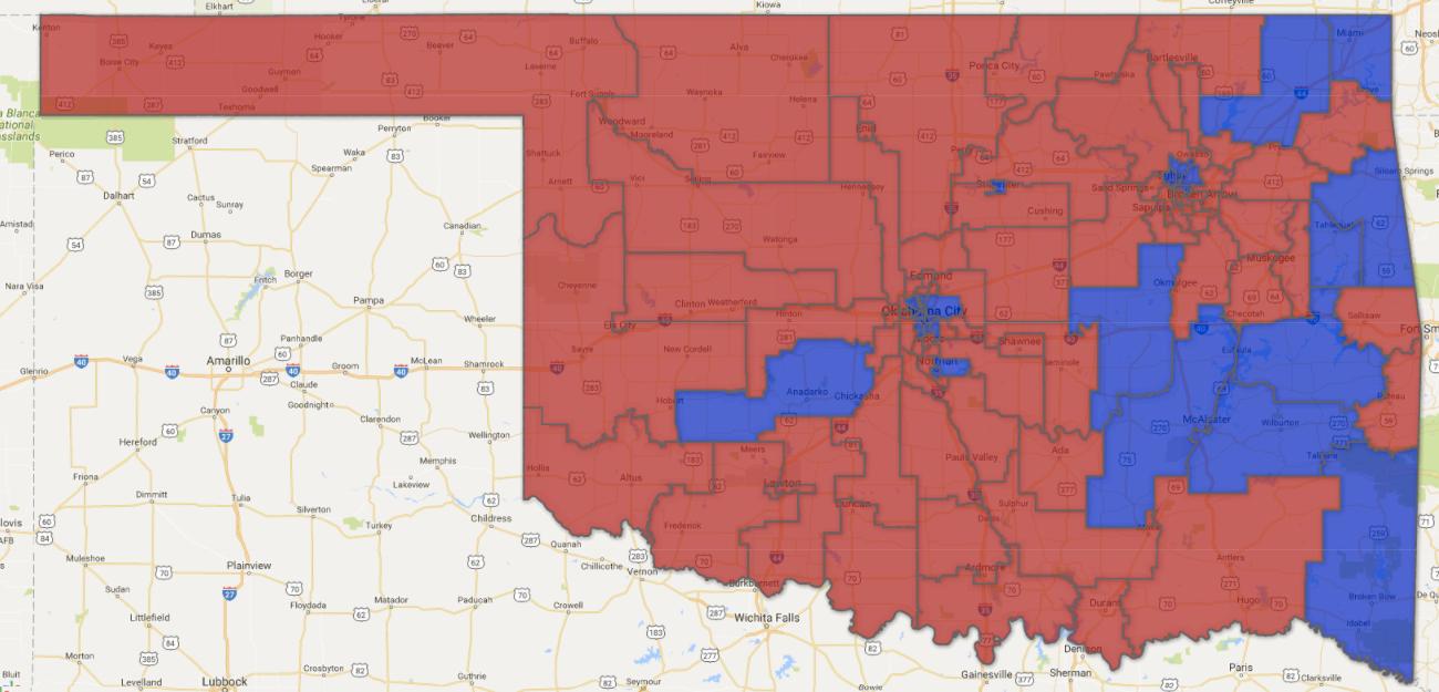 Republicans Hold 78.5 Percent Of Oklahoma Legislative Seats, Including 75  Of 101 House Seats, For 72.3 Percent.