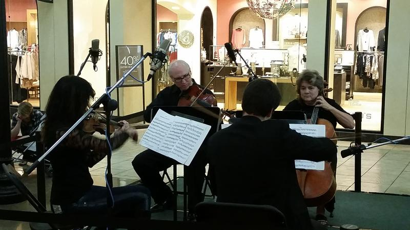 Tedesca Quartet performs at the KPBX Kids' Concert October 3, 2015.