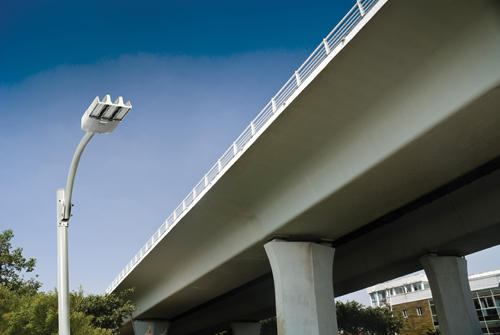 A Phillips Lumec streetlight similar to the type which may be used by Avista during the installation process.