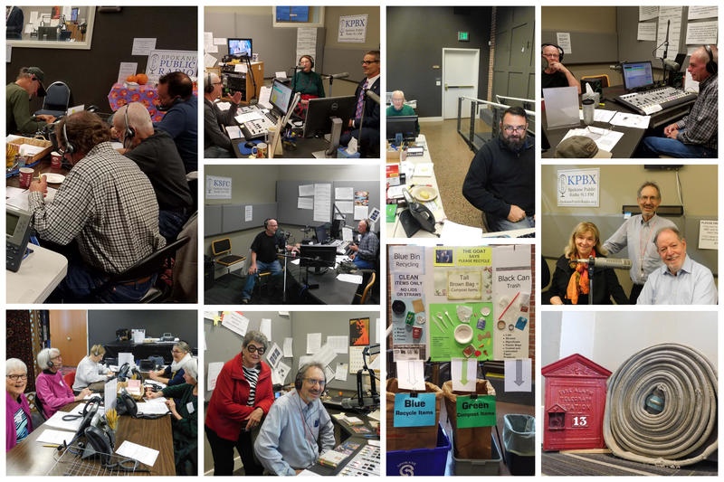 Day two of the fall pledge drive got off to a great start! Thank you to all our wonderful Friday morning volunteers!