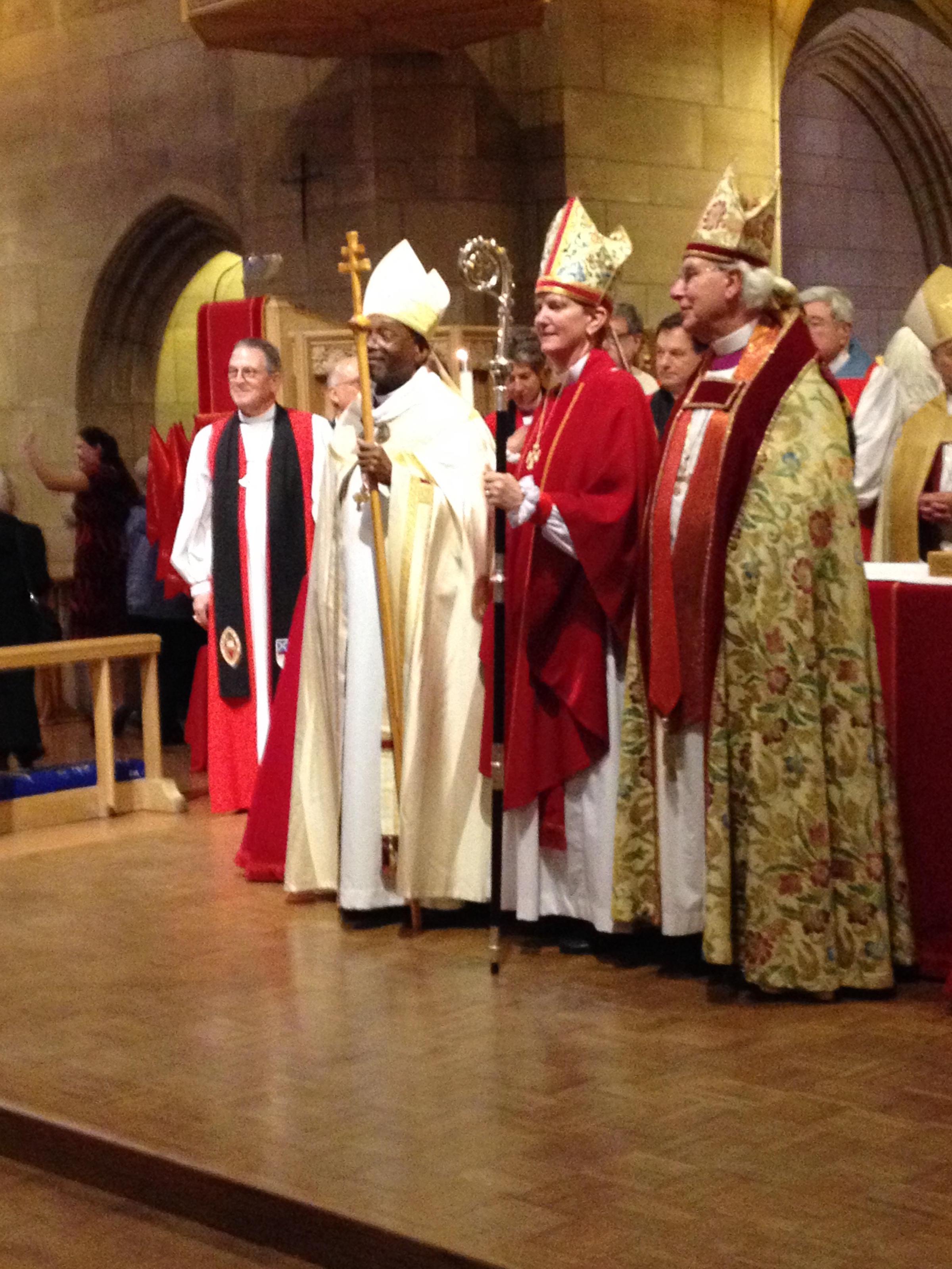 episcopal church and gay bishops