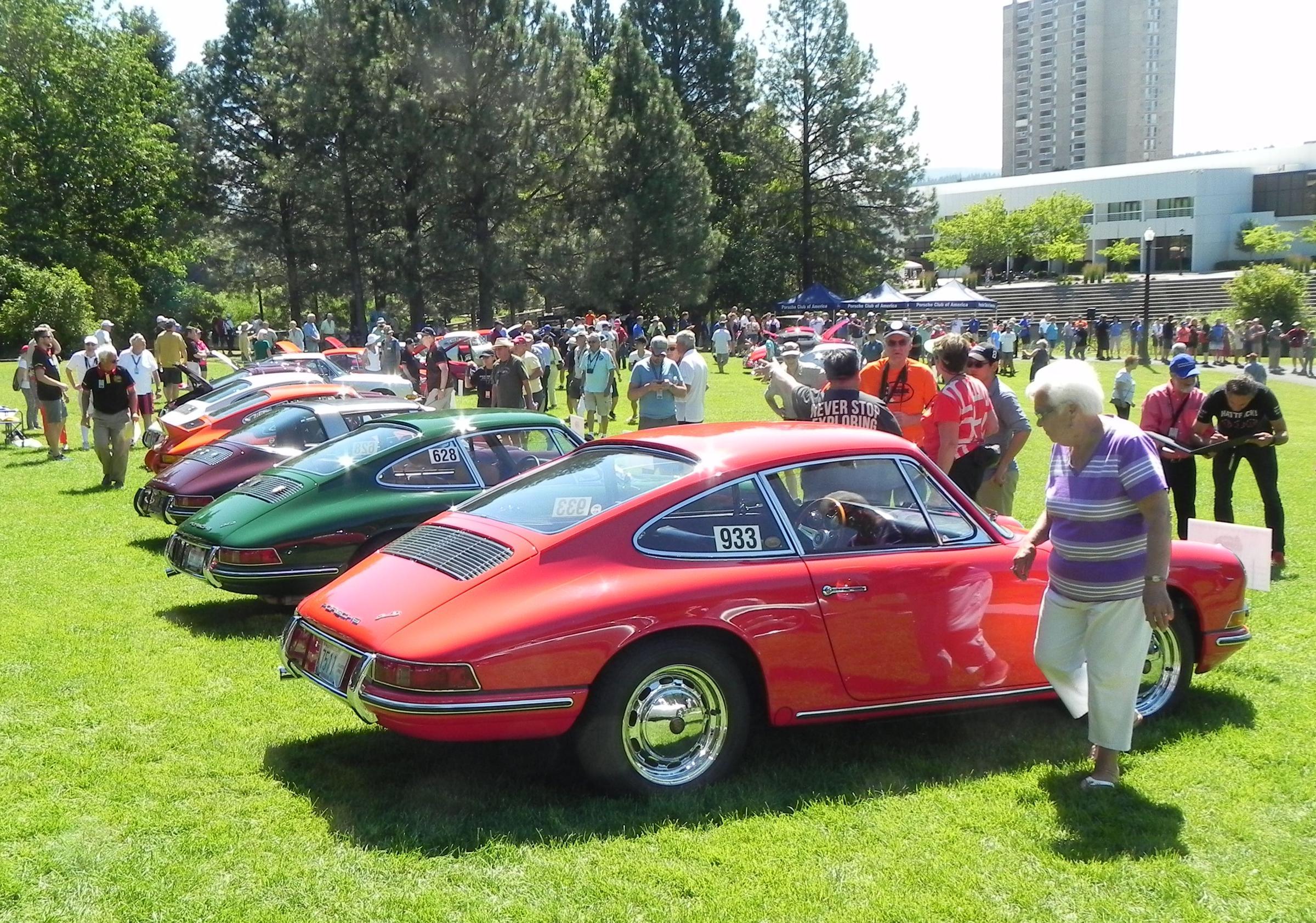 National Porsche Parade Visits Spokane Spokane Public Radio