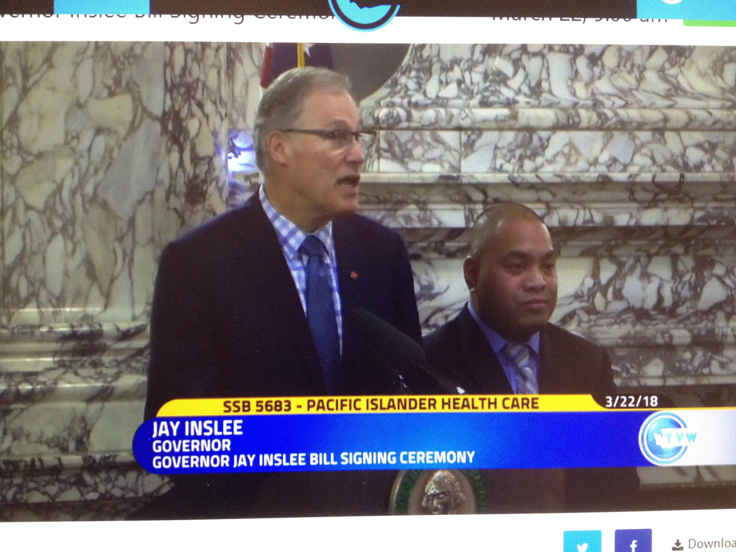 Inslee signs bills sparked by #MeToo