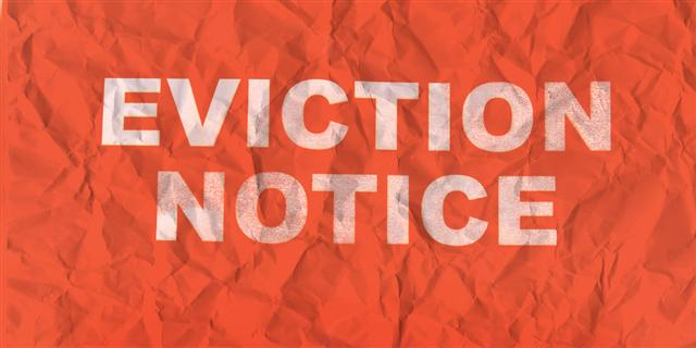 eviction papers