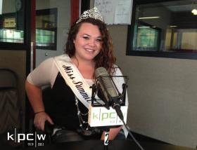 Lexi Faavale, the current Miss Summit County.