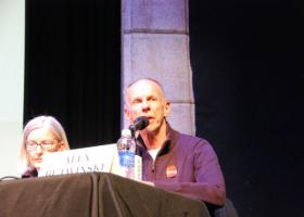 Alex Butwinski at the KPCW Park Record 2013 Election Forum.