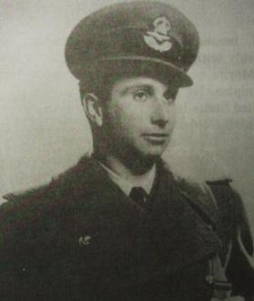 Billy Fiske in uniform.