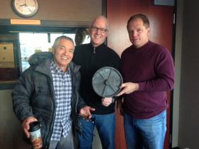 Ken Barfield, Greg Schneider and Todd Losse