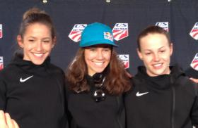 Jessica Jerome, Sarah Hendrickson and Lindsey Van will all go to Sochi to represent the U.S. in the first-ever women's ski jumping event.