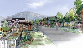 Rendering of the proposed Park City Heights project.