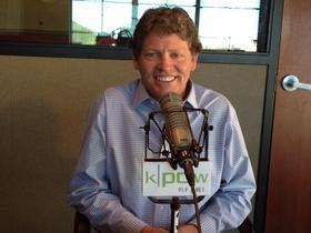 Tiger Shaw at the KPCW Studios.