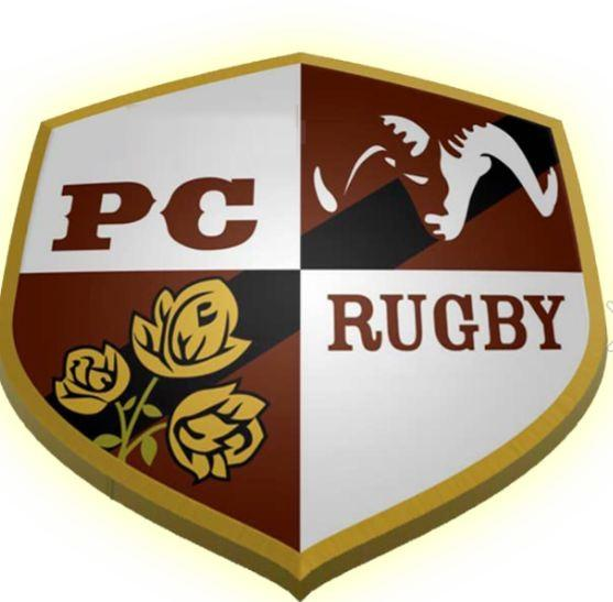 The Muckers Rugby team crest.