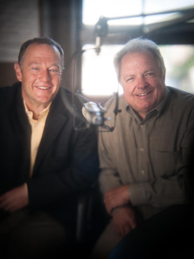 Hosts Doug Wells and Larry Warren