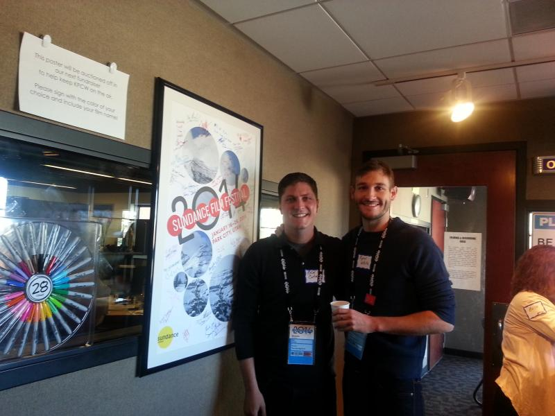 Ben Cotner and Ryan White, Directors of 'The Case Against 8'.