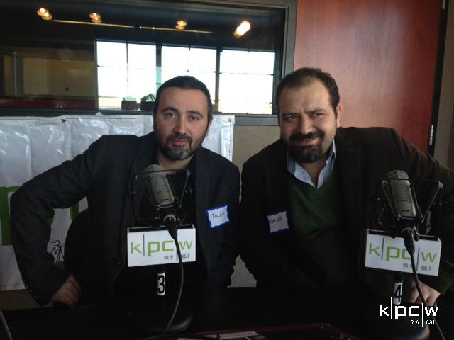 Talal Derki, Director, and Orwa Nyrabia, Producer, of 'Return to Homs'