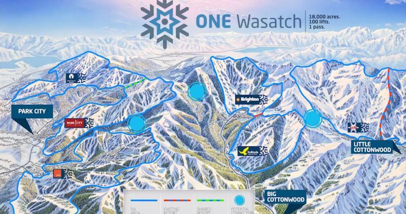 Brighton Utah Map.Brighton Ski Resort Kpcw