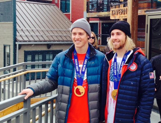 Joss Christensen and Sage Kotsenberg