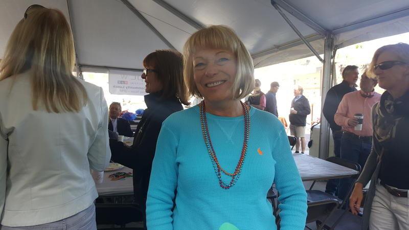 KPCW Board Member, Broadcasters Club member and lunchtime volunteer Faye Slettom