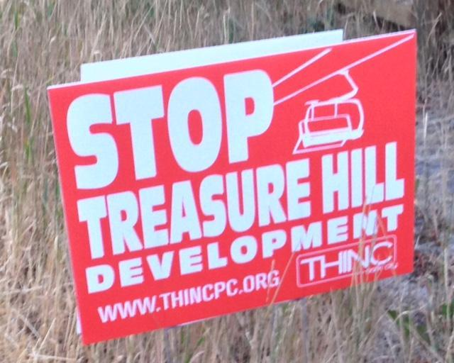 Locals are upset about Treasure Hill and the impact it will have.