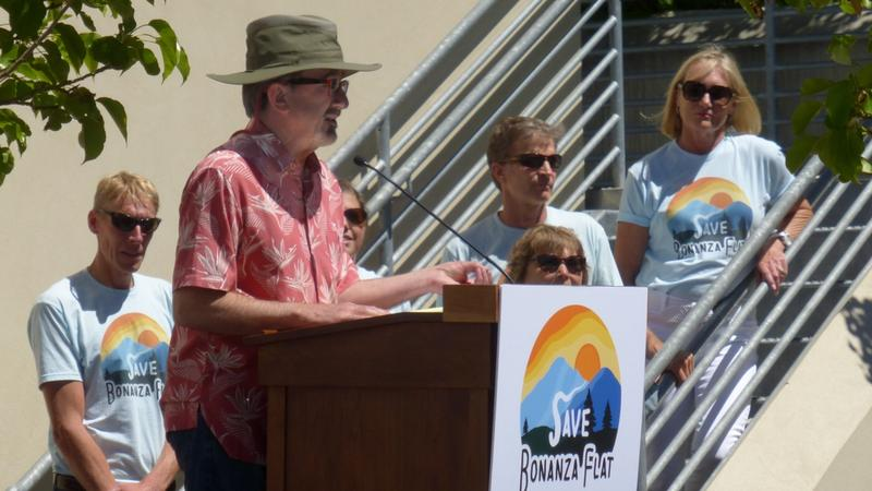 Park City Mayor Jack Thomas says Bonanza Flat no longer is under threat of developers.