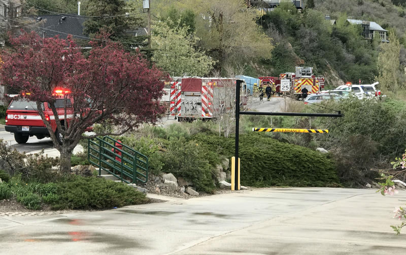 Park City Fire District's specialized teams respond to an emergency involving a semi-trailer that crashed into a home.