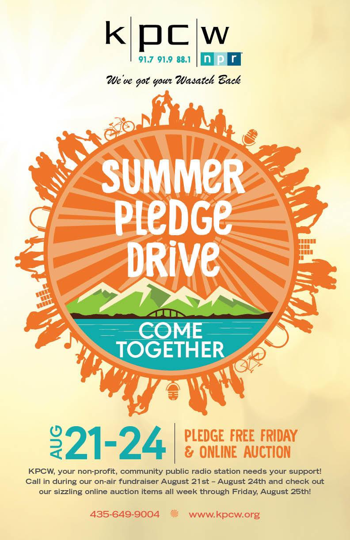 2017 Summer Pledge Drive
