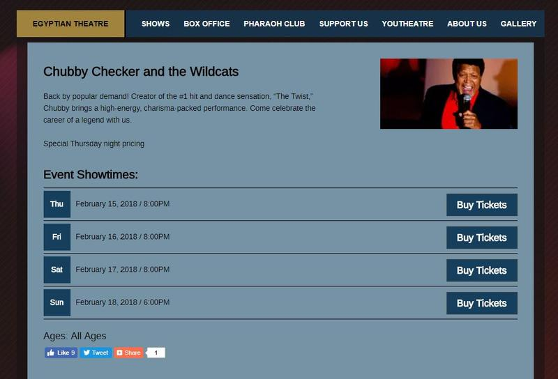 Well chubby checker the wildcars turns out?