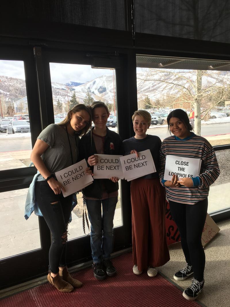 PCHS Walkout Student Organizers