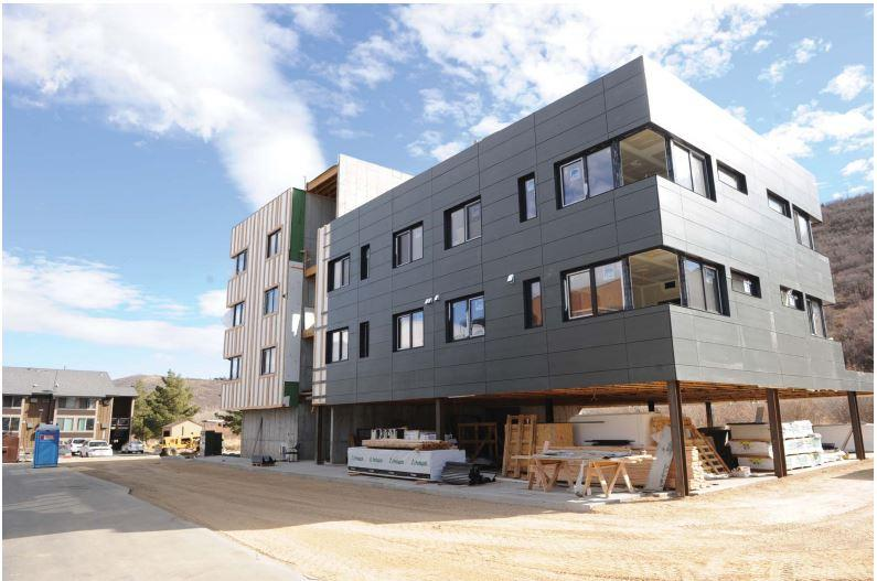 The condos had many delays due to the busy construction in Park City