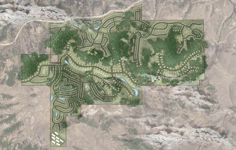 Proposed layout for Benloch Ranches