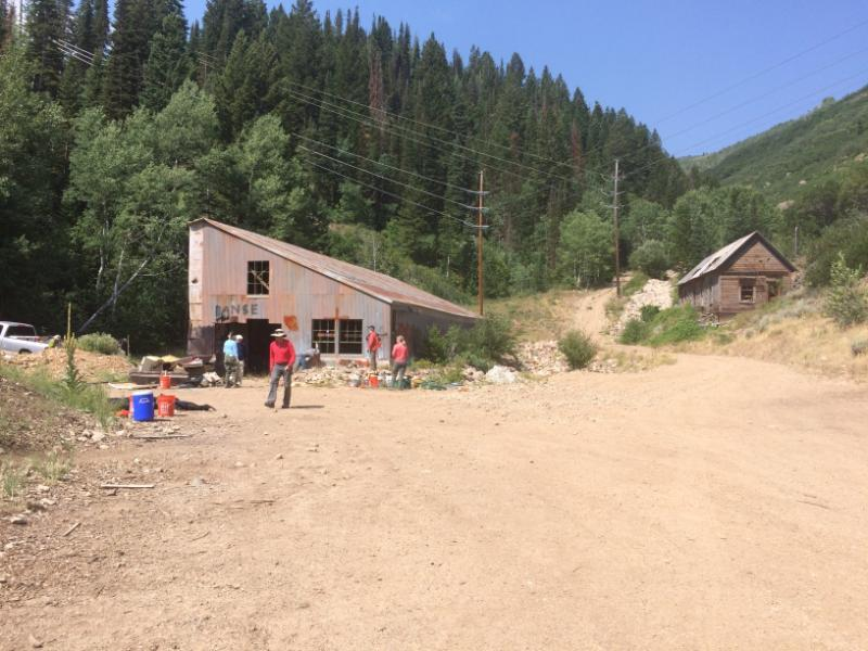 Alliance Mine before the cleanup