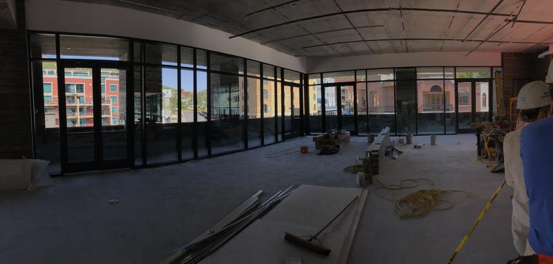 The view from the main room
