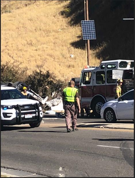 Truck Crash Near Deer Valley Round-About