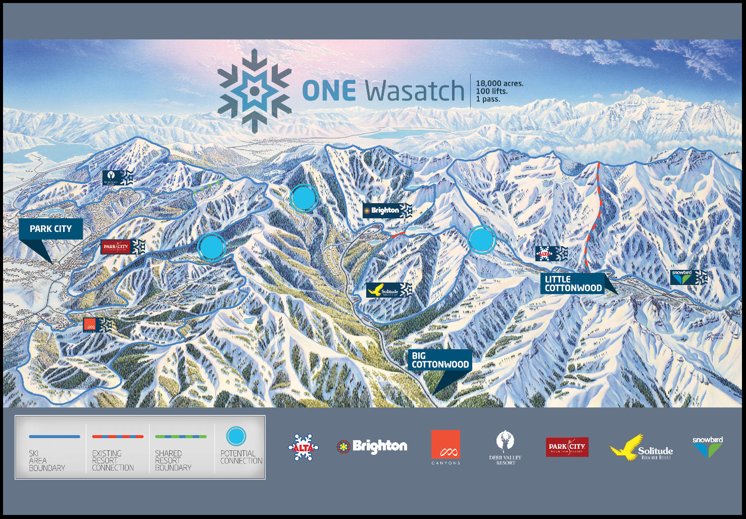 ski utah announces concept of connecting seven resorts | kpcw