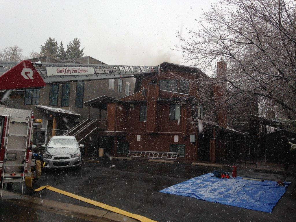 Put Out Fire In Fireplace fire investigation: fireplace vents blocked at lodge | kpcw