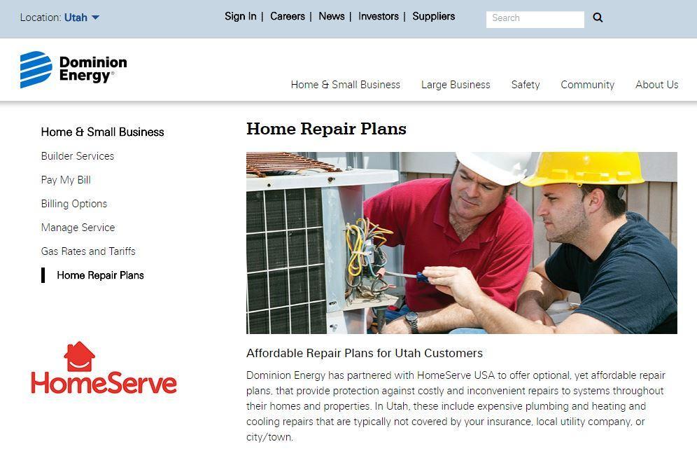 Dominion Energy Offers Warranty On Home Systems, Appliances   KPCW