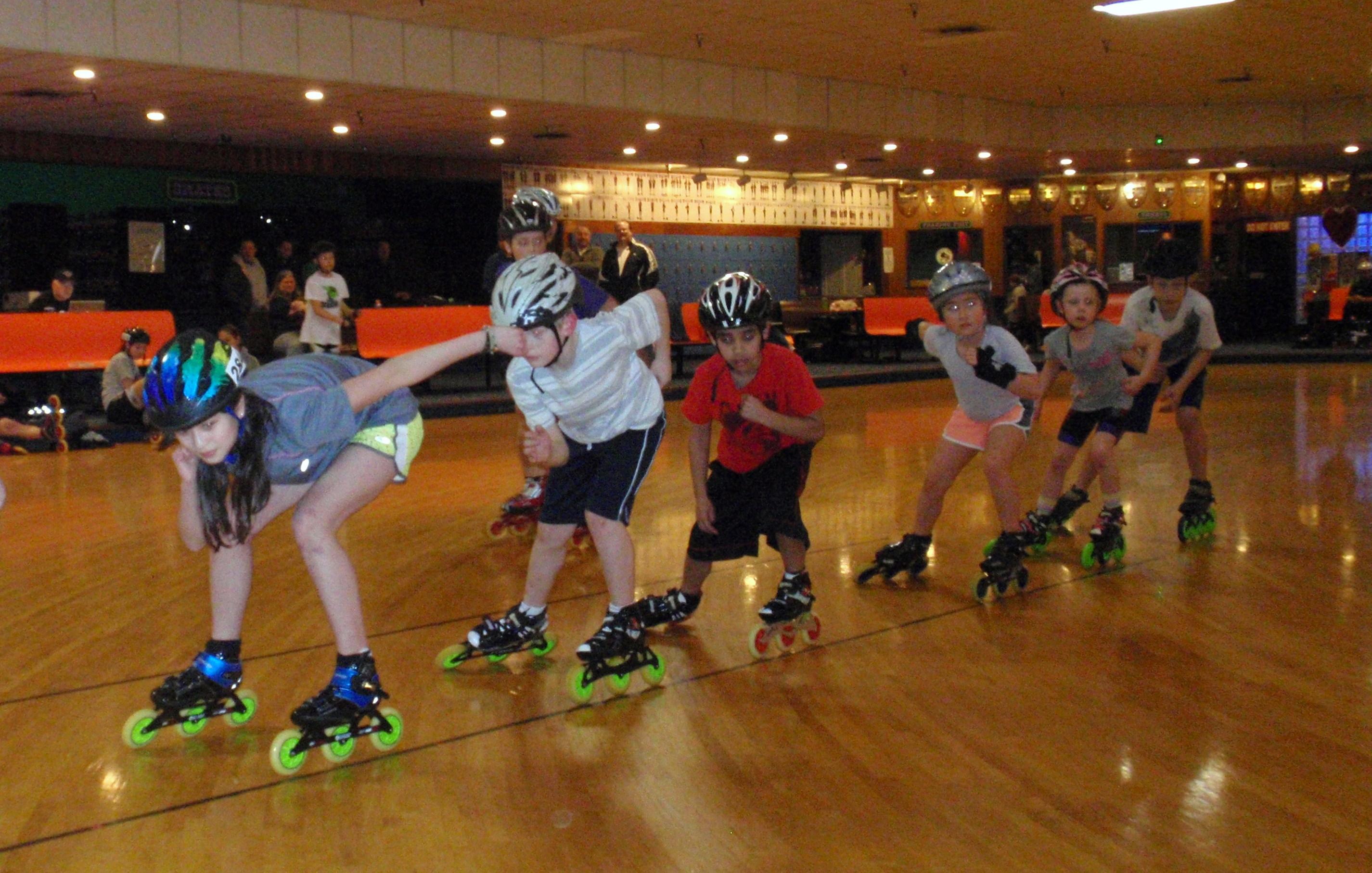 the roller skating rink