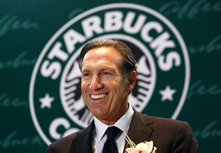 howard schultz management style