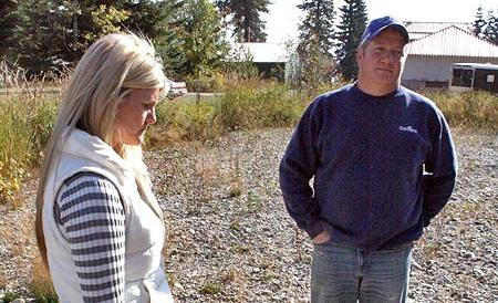 Chantell and Mike Sackett said the EPA violated their right to due process when it said they were building a house on a wetland and ordered them to restore the land.