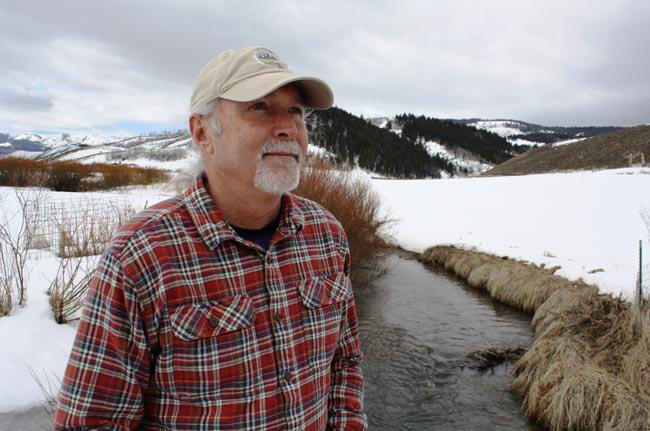 Marv Hoyt of the Greater Yellowstone Coalition has been working on selenium contamination from phosphate mines in Sage Creek and other southeast Idaho waterways for more than a decade.