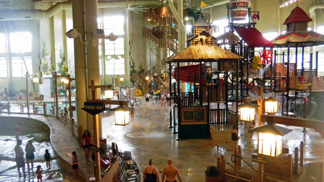 """Great Wolf Lodge in southwest Washington draws families from across the region to its indoor water park."""