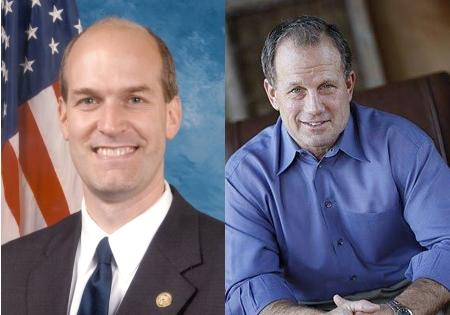Incumbent Congressman Rick Larson (D, left) faces a strong challenge from Republican John Koster (right).