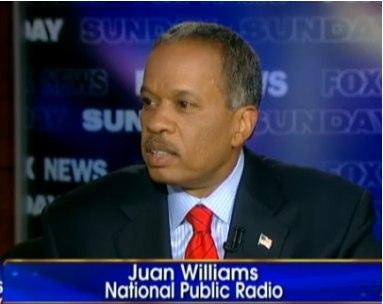 You won't see NPR's name below Juan William's face on TV anymore.